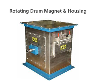 Rotating Drum Magnet & Housing