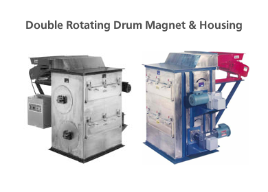 Double Rotating Drum Magnets
